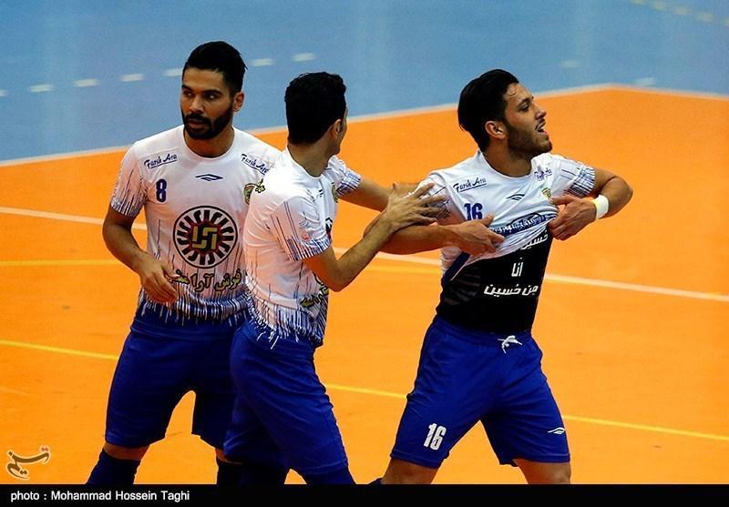 لیگ برتر فوتسال، پیروزی فرش آرا در شیراز و برتری پرگل مقاومت البرز مقابل شهرداری ساوه