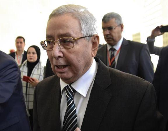 رئیس جمهوری موقت الجزایر انتخاب شد