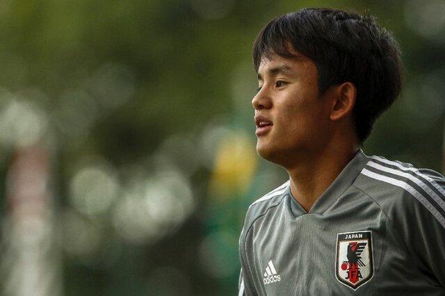 رئال مادرید یک بازیکن ژاپنی به خدمت گرفت