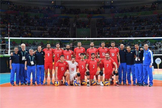 تیم ملی والیبال ایران نماینده آسیا در جام بین قاره ای