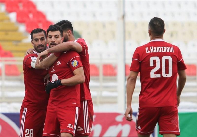 جام حذفی فوتبال، صعود تراکتور به جمع 4 تیم پایانی با فزونی پُرگل مقابل مس کرمان
