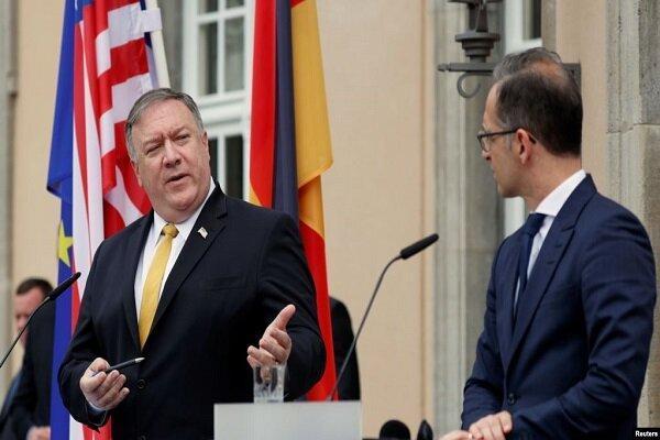 وزرای خارجه آمریکا-آلمان علیه ایران رایزنی کردند