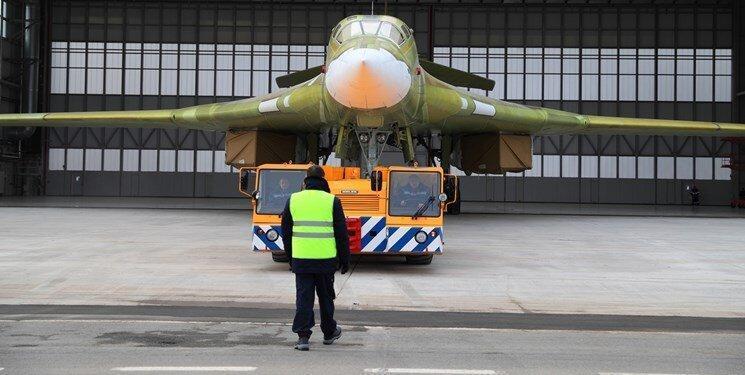 آزمایش بمب افکن هسته ای راهبردی Tu-160 روسیه