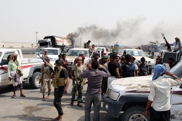مرگ واسارت شبه نظامیان امارات در درگیری بانیروهای دولت مستعفی یمن