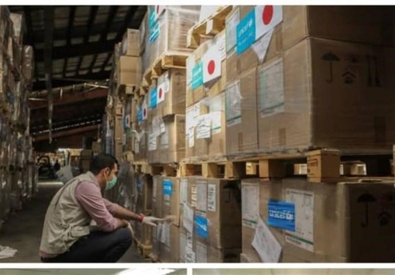 یاری 36 تُنی یونیسف به کادر درمانی و بیمارستانی ایران