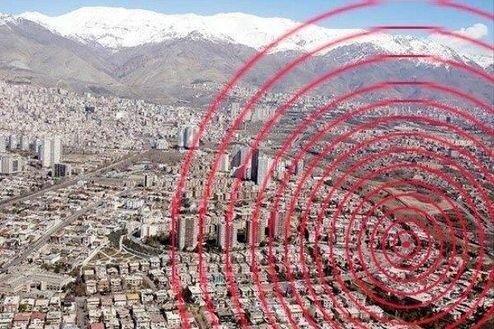 نقشه راه تهران ضدزلزله