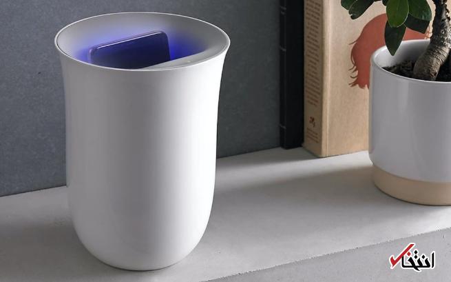 چگونه همزمان گوشی خود را شارژ و ضدعفونی کنیم؟