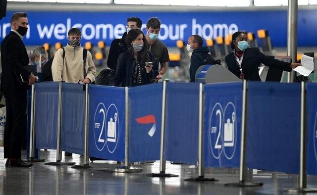 فرودگاه هیتروی لندن تست کرونای 30 ثانیه ای را به آزمایش می گذارد