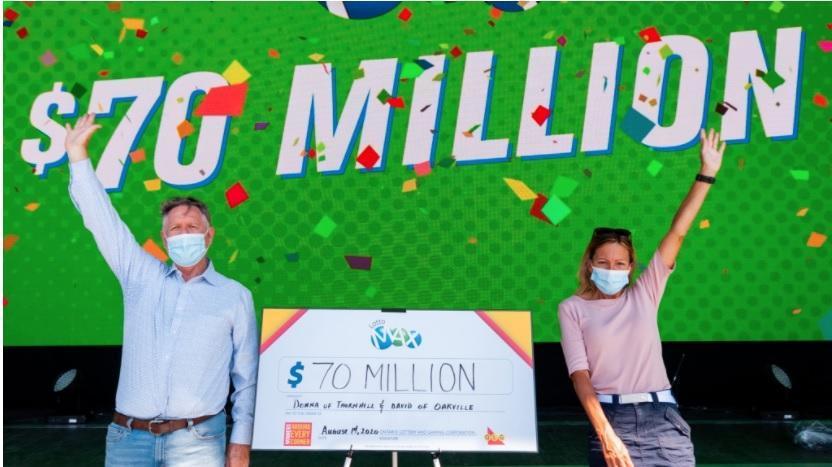 دوستان انتاریویی برنده جایزه 70 میلیون دلاری لوتو مکس شدند
