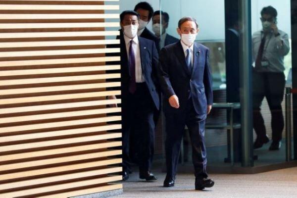 سوگا رسماً نخست وزیر ژاپن شد