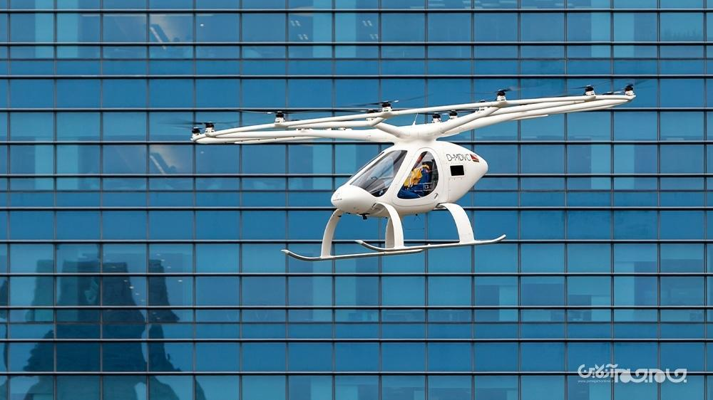 &zwnjتاکسی هوایی فعالیت خود را از سال 2023 در سنگاپور شروع می نماید