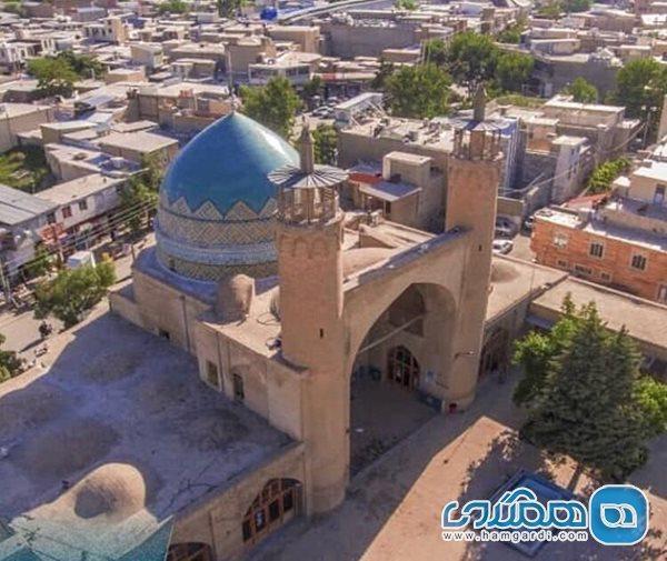 مسجد جامع بروجرد از شاهکارهای معماری است