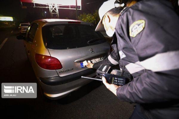 خبرنگاران 130 خودرو با پلاک مخدوش در قزوین توقیف شده اند