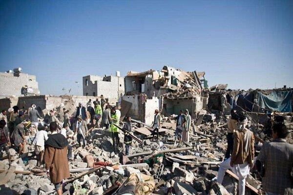 جنگنده های متجاوز سعودی الحدیده یمن را بمباران کردند