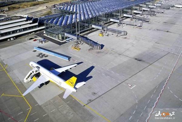 فرودگاه کلن بن، از فرودگاه های عظیم آلمان، عکس