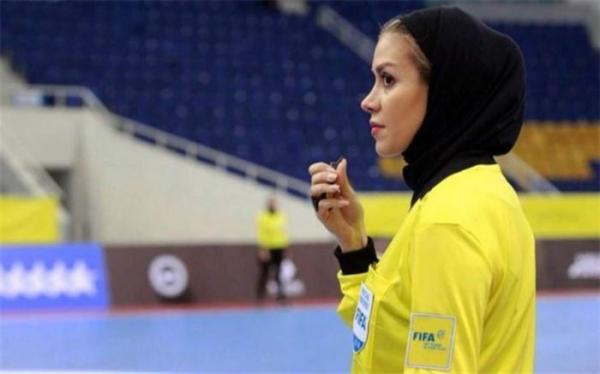 دختر ایرانی نامزد جایزه بهترین داور سال 2020 فوتسال دنیا شد