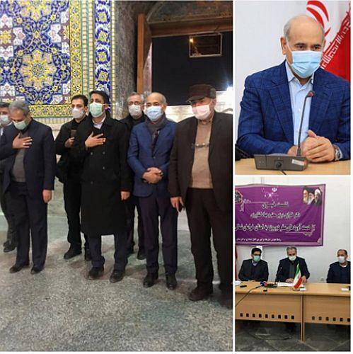 نشست خبری مدیرعامل بانک کشاورزی در خراسان شمالی