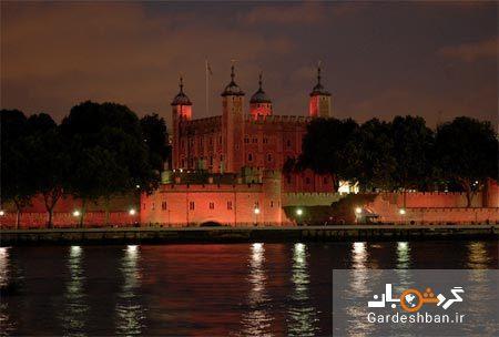 آشنایی با برج تاریخی لندن در کنار رود تیمز ، عکس