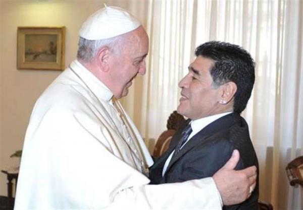 پاپ: مارادونا در زمین یک شاعر بود، قهرمانی آرژانتین در جام جهانی 1986 را یک روز دیر فهمیدم