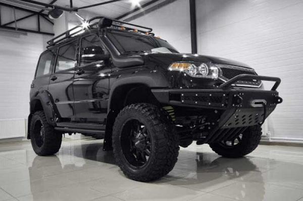 خودرو ارتش روسیه با نام تائوس در آمریکا عرضه می گردد