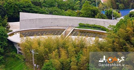 معبد آب ؛ بنایی با معماری عجیب و خاص در ژاپن