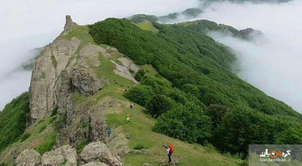 قله اسپیناس ؛ بلندترین کوه در منطقه آستارا با طبیعتی بکر