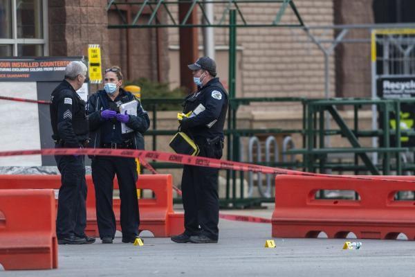 خبرنگاران تیراندازی در شیکاگو یک کشته و هفت زخمی داشت
