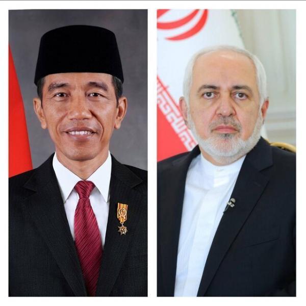 محمدجواد ظریف با رئیس جمهور اندونزی ملاقات کرد