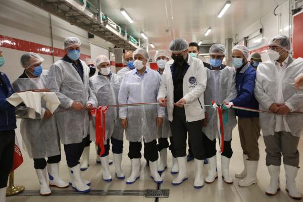 افتتاح خطوط توسعه کارخانه مهیا پروتئین در شهرک صنعتی خوارزمی