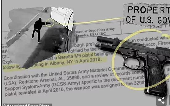 گزارش آسوشیتدپرس از سرقت سلاح در ارتش آمریکا و استفاده از آنها در جرایم خشن