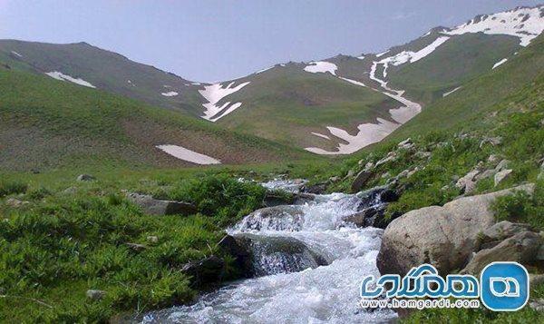 ییلاق ماهنشان از زیباترین منطقه ها زنجان است