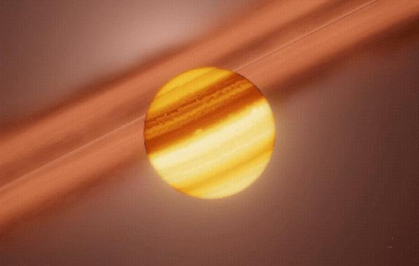 برای نخستین بار فرایند تشکیل قمر در سیاره ای فراخورشیدی رصد شد