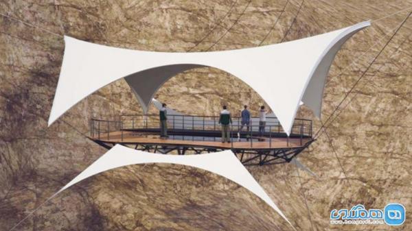 بلندترین زیپ لاین جهان در راس الخیمه خاورمیانه، تصاویر