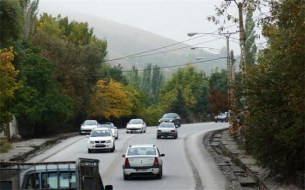 افزایش 0، 4 درصدی تردد در محور های برون شهری