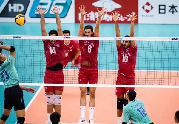 تور تایلند ارزان: والیبال قهرمانی آسیا، پیروزی آسان ایران مقابل تایلند